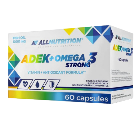 ALLNUTRITION ADEK + Omega 3 Strong капсулы