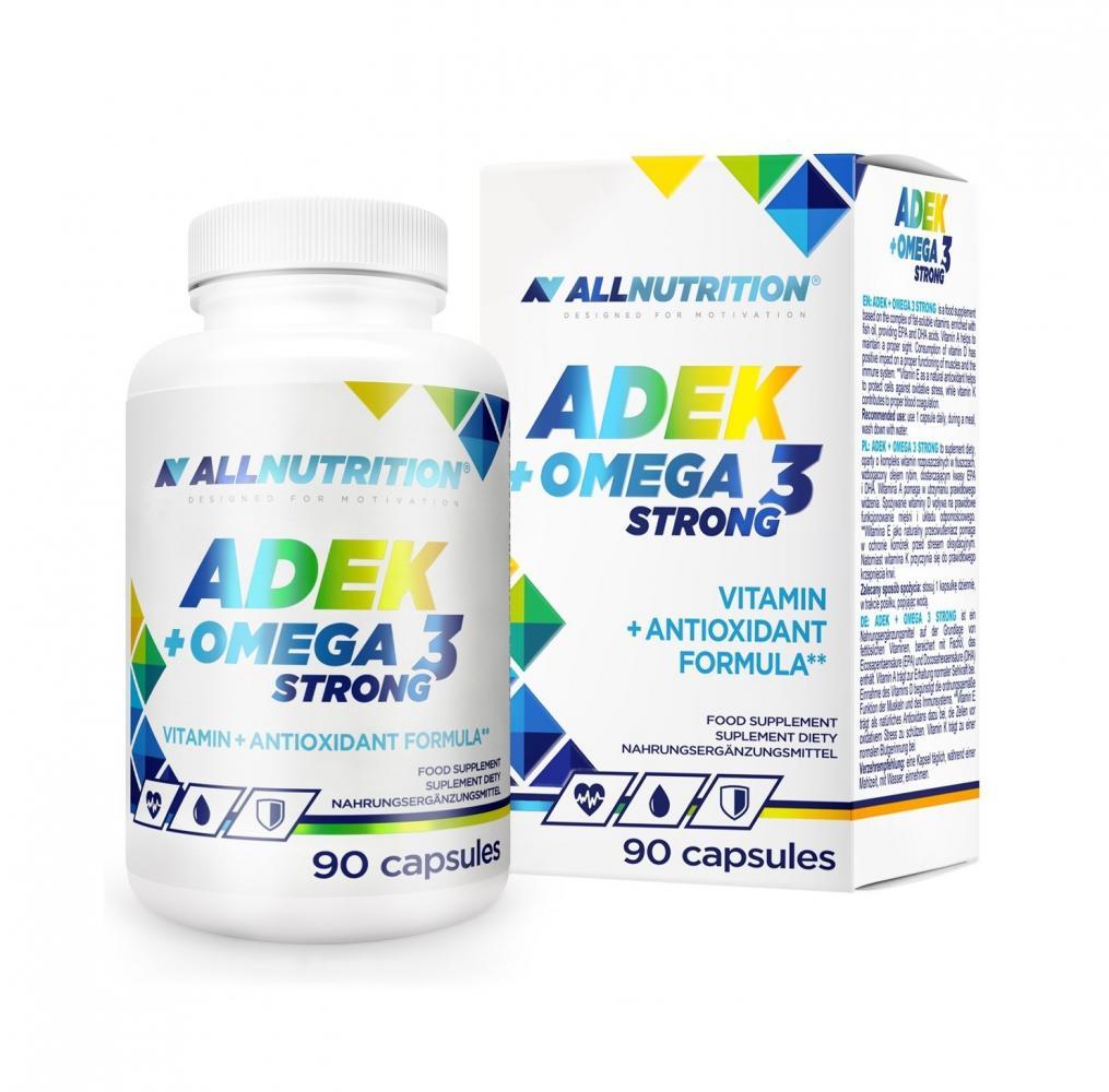 Купить ALLNUTRITION ADEK + Omega-3 Strong капсулы 90 шт.