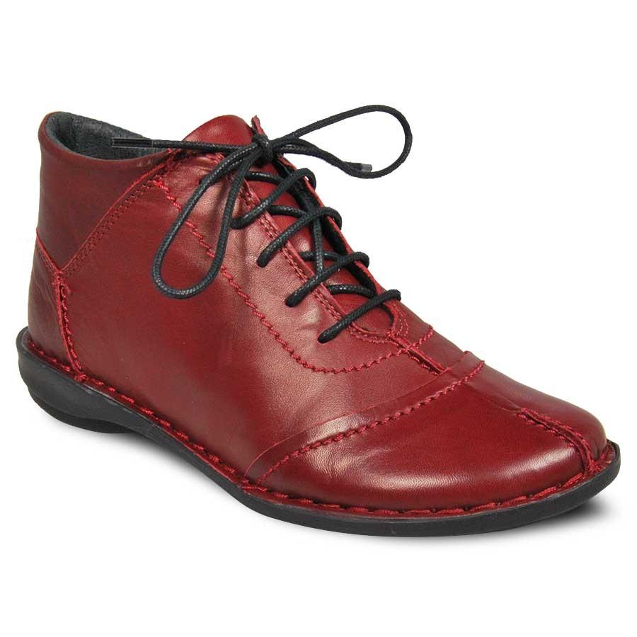 Ботинки женские Francesco Donni 313-0-65-26 бордовые 37 RU