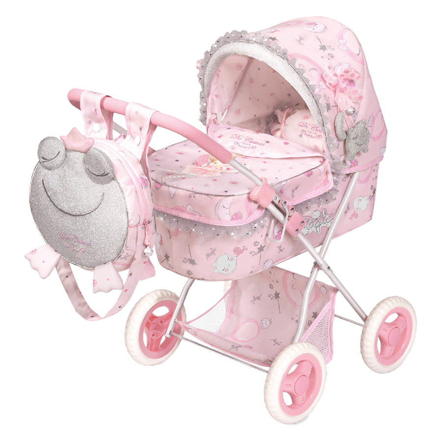 Коляска для куклы с рюкзаком серии Мария,