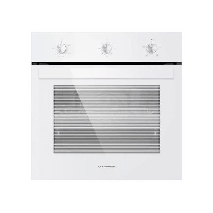 Встраиваемый газовый духовой шкаф MAUNFELD EOGC604W
