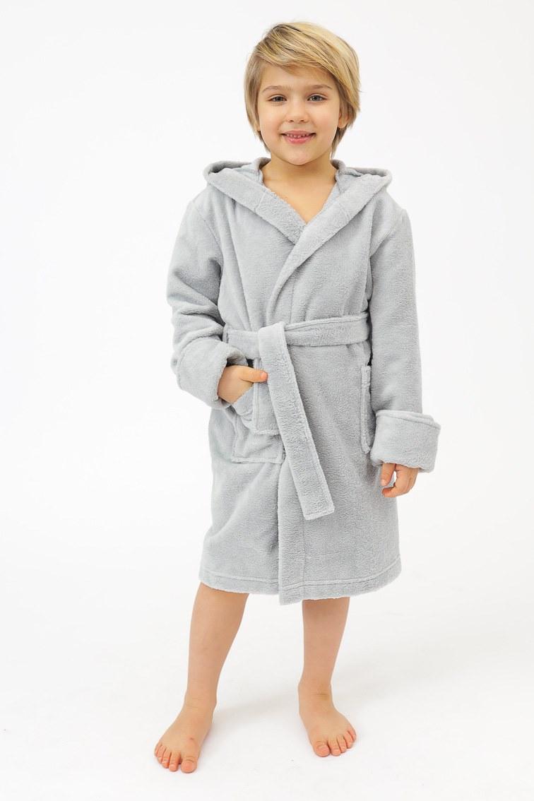 Детский бамбуковый халат Peche Monnaie Doggy