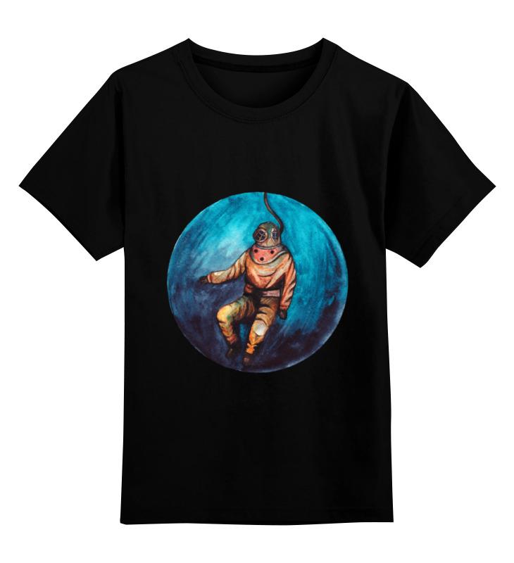 Детская футболка Printio Waterlife цв.черный р.116 0000000735542 по цене 990
