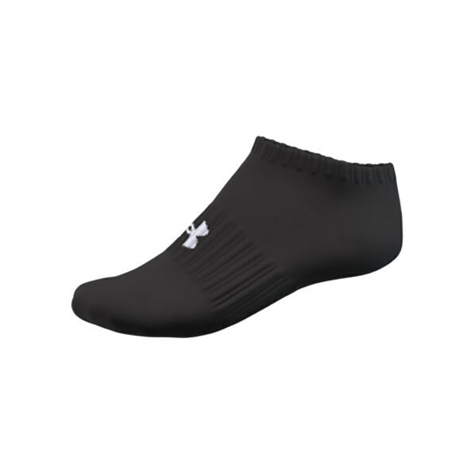 Набор носков унисекс Under Armour UA Core No Show 3Pk черный L
