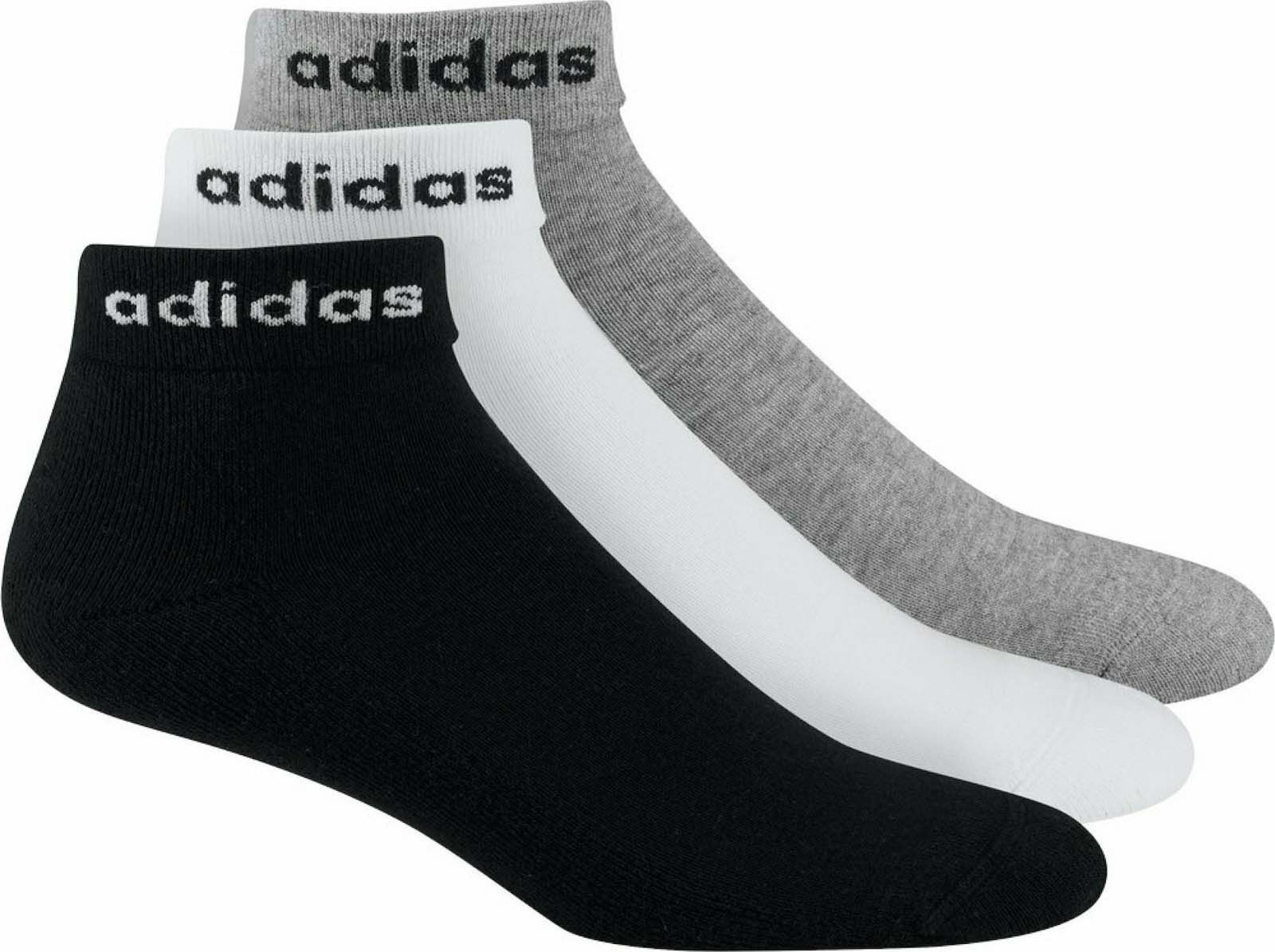 Набор носков унисекс Adidas HC ANKLE 3PP    MH черный L