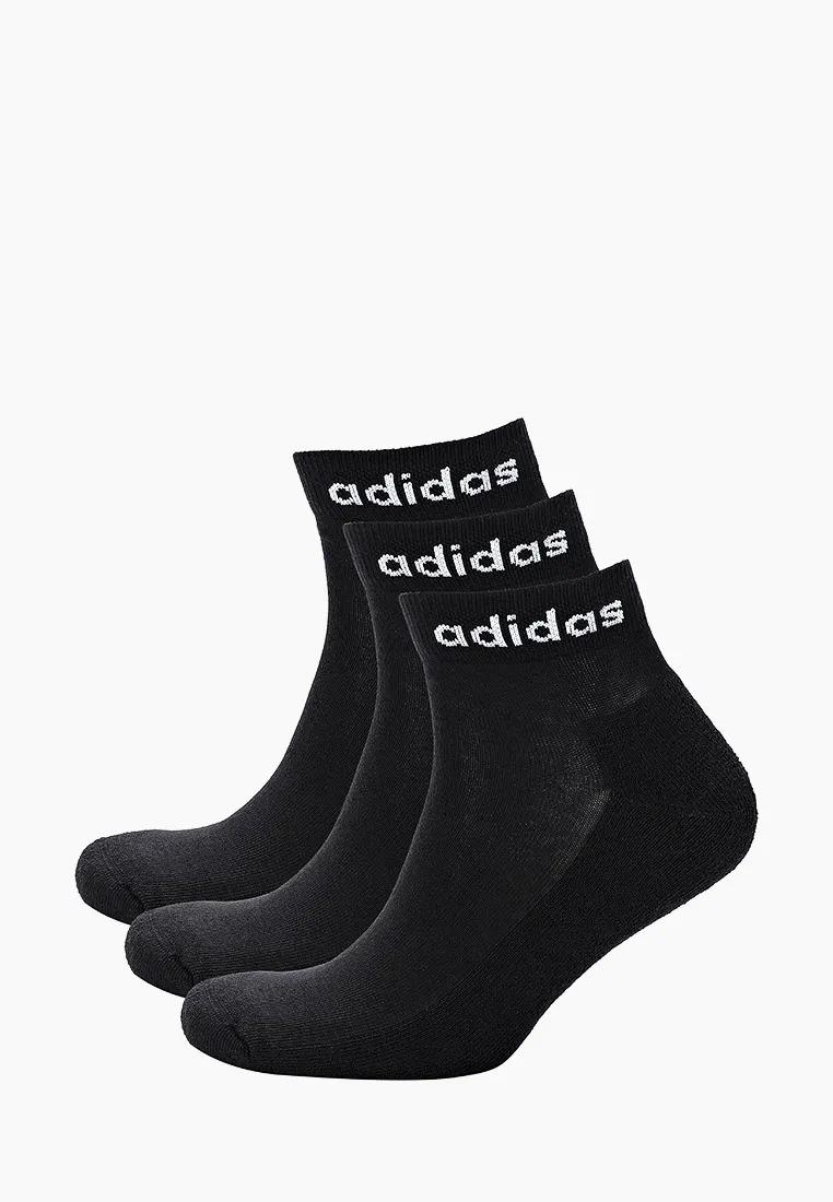 Набор носков унисекс Adidas HC ANKLE 3PP черный M