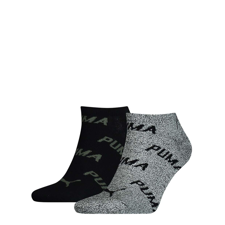 Набор носков унисекс Puma PUMA UNISEX BWT SNEAKER 2P черный 43/46