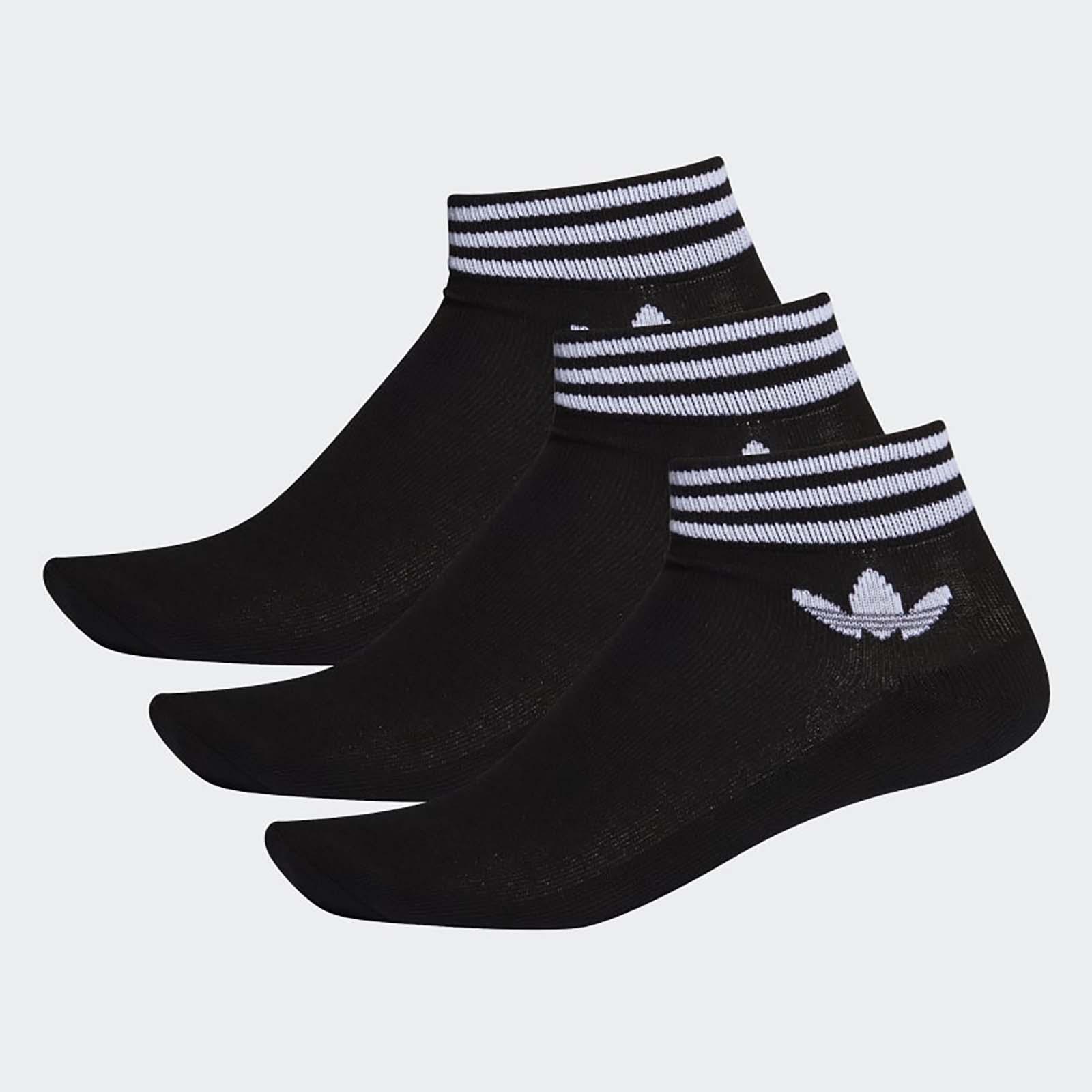 Носки унисекс Adidas TREF ANK SCK HC черные 35/38