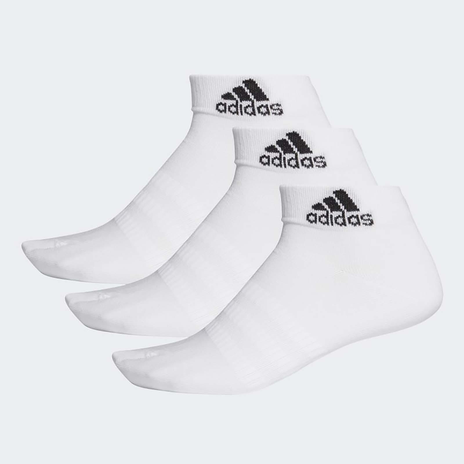 Набор носков унисекс Adidas LIGHT ANK 3PP белый L