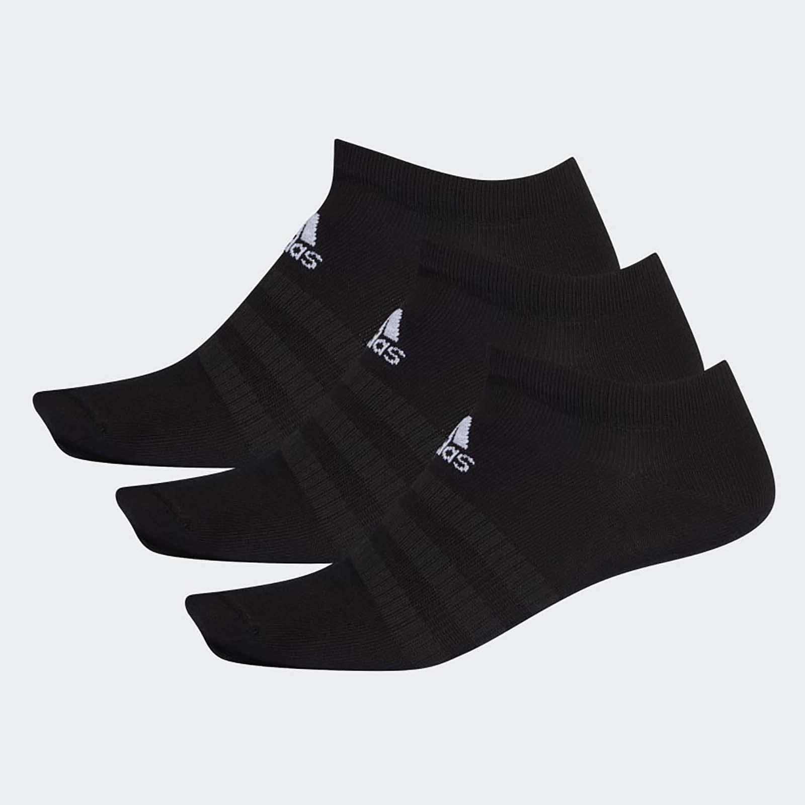Набор носков унисекс Adidas LIGHT LOW 3PP черный L