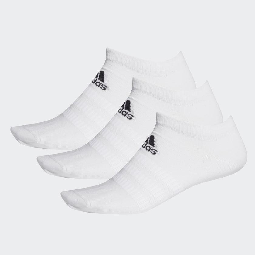 Набор носков унисекс Adidas LIGHT LOW 3PP белый L