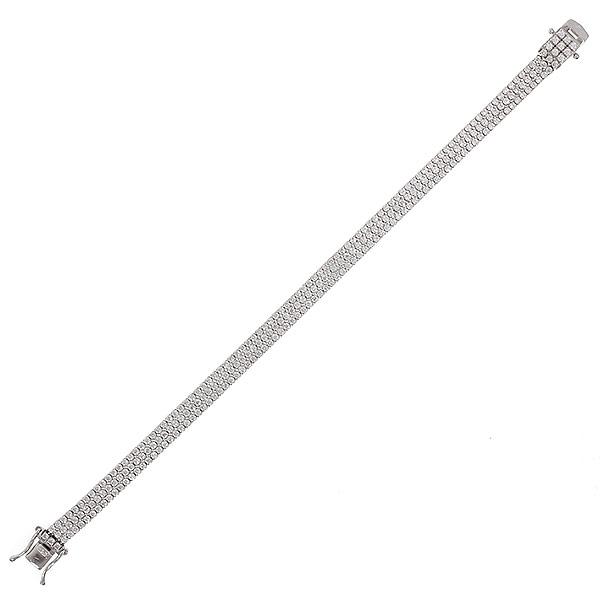 Браслет женский Balex Jewellery 7454910002 из серебра, фианит, р. 19