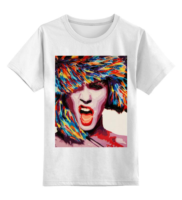 Детская футболка Printio Winter bang цв.белый р.128 0000000740196 по цене 790