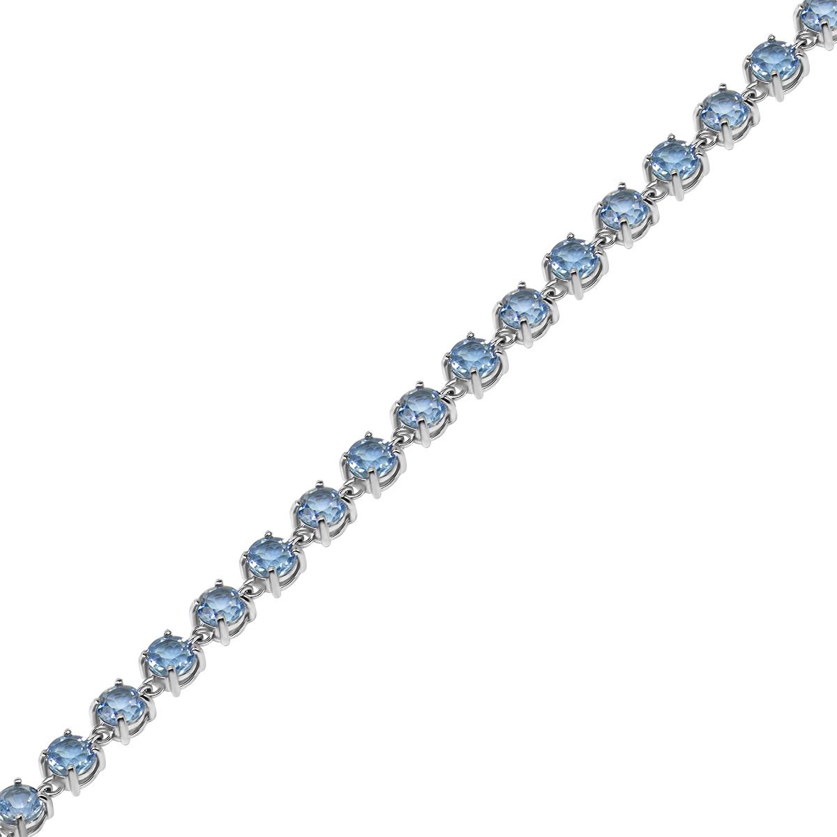 Браслет женский Balex Jewellery 7405937842 из серебра, топаз, р. 21