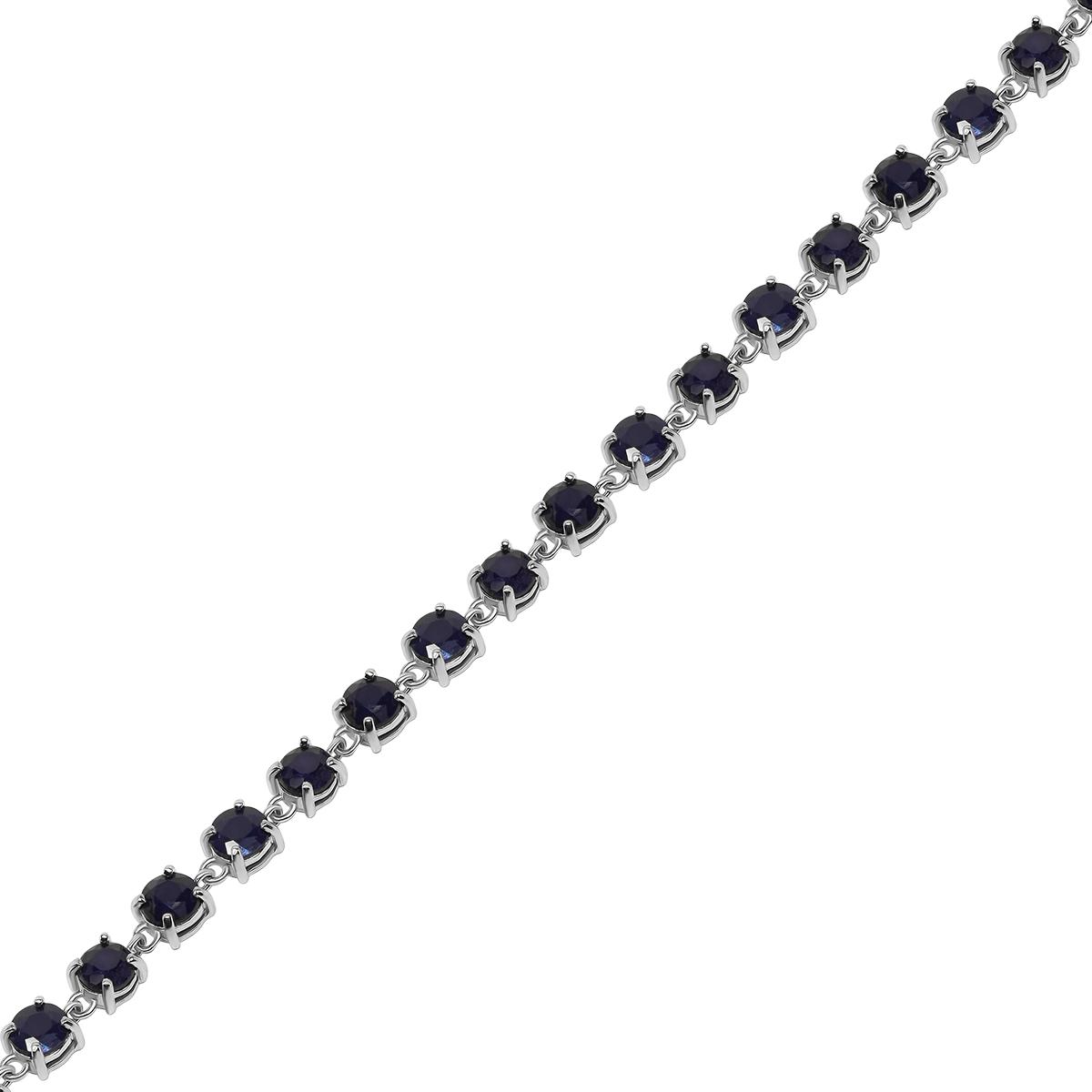 Браслет женский Balex Jewellery 7405937841 из серебра, сапфир, р. 21