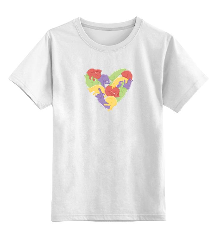 Детская футболка Printio Кошкоспальня цв.белый р.128 0000000728324 по цене 790