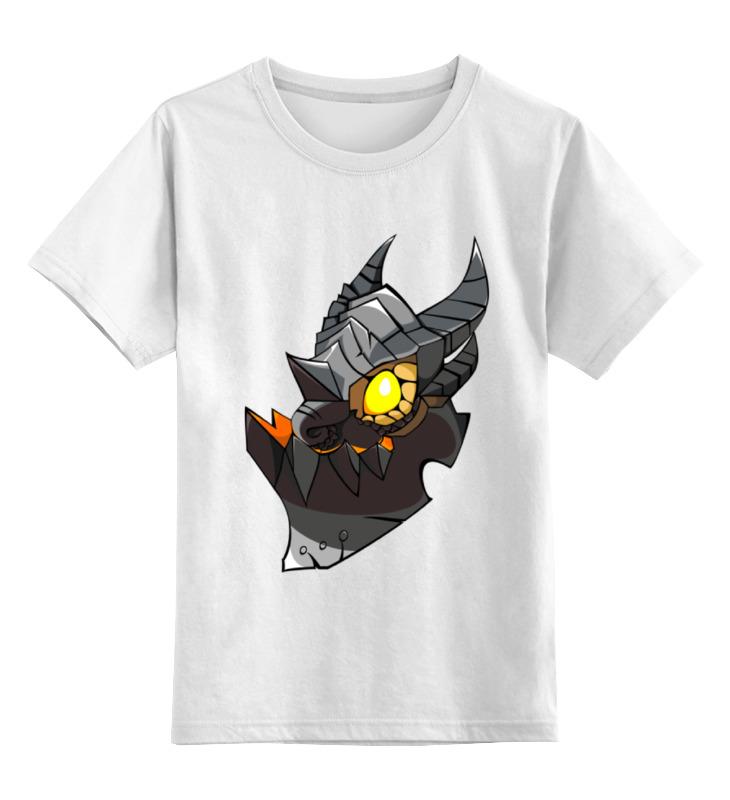 Детская футболка Printio Десвинг цв.белый р.140 0000000740129 по цене 790