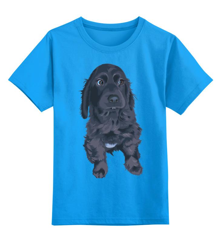 Детская футболка Printio Песик цв.голубой р.140 0000000738770 по цене 990