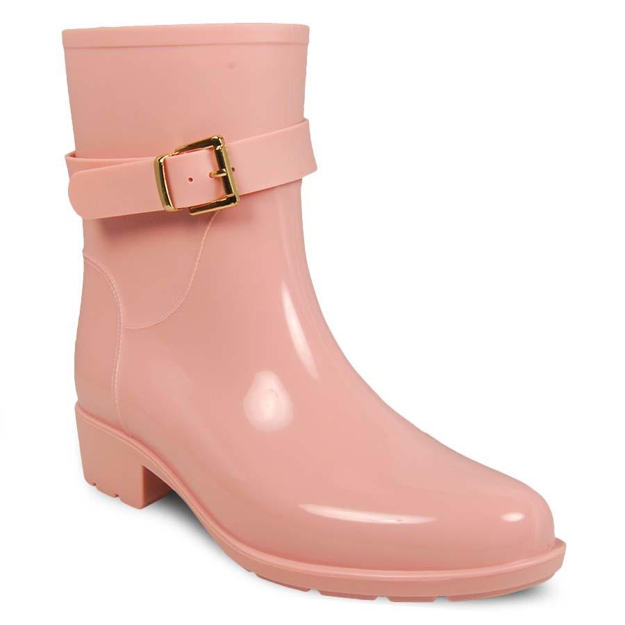 Резиновые сапоги женские MonAmi MA-JT008 розовые 38 RU