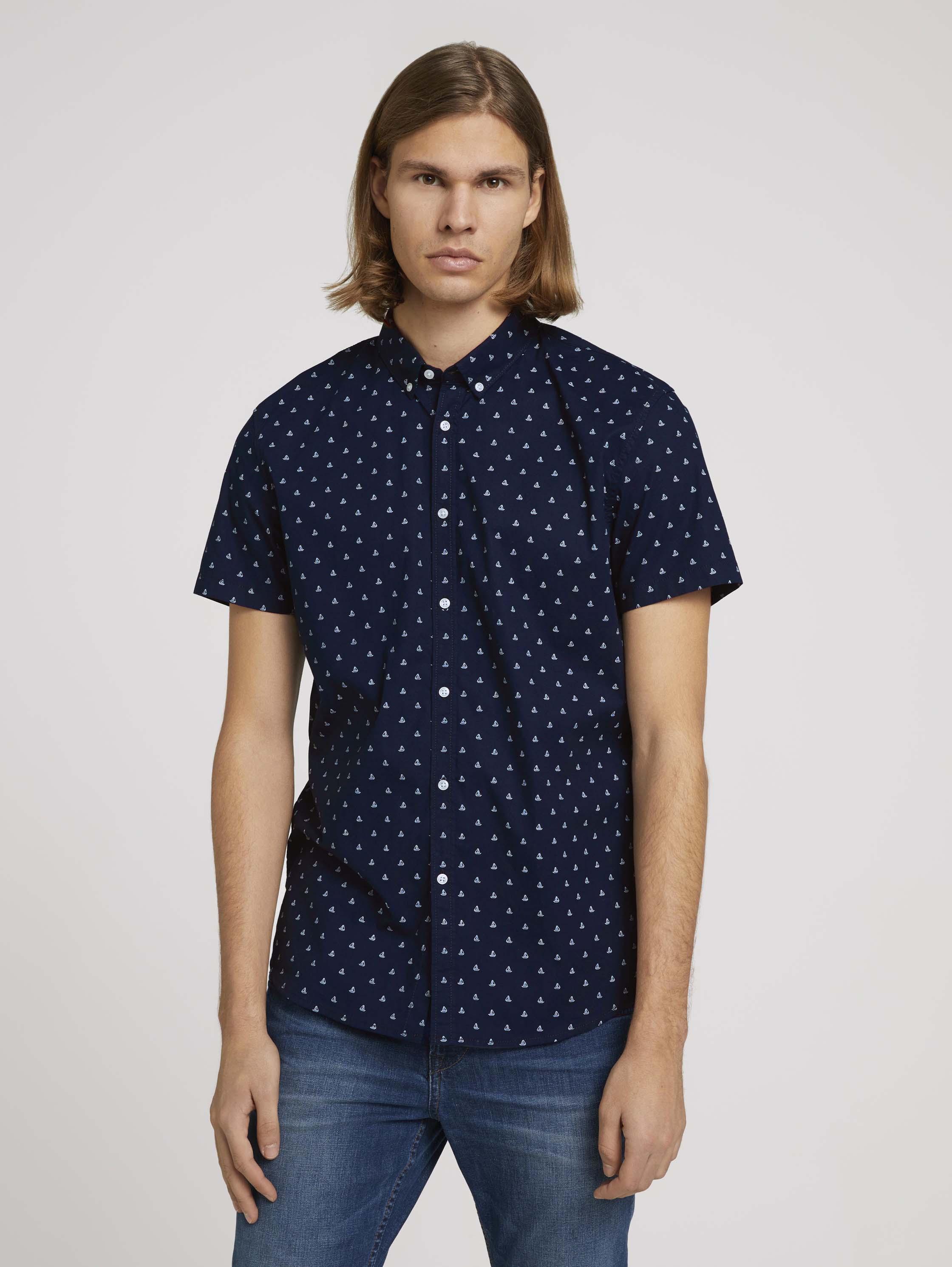 Рубашка мужская TOM TAILOR 1025169 синяя L