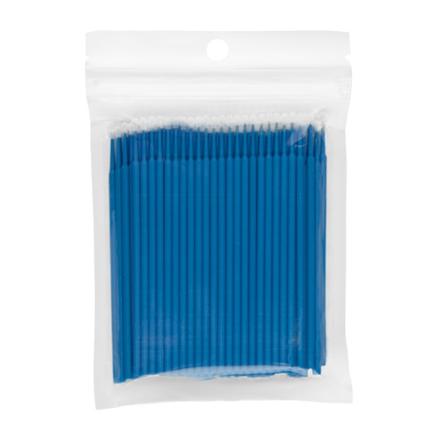 Купить Микрощеточки IRISK в пакете, L, синие, 100 шт.