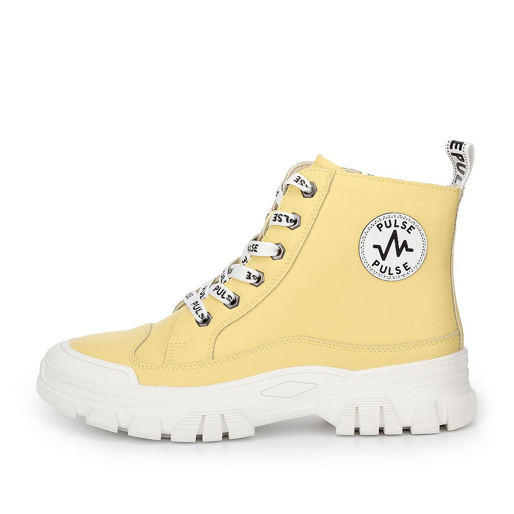Ботинки женские PULSE 78-11WB-063VR желтые 36 RU, 78-11WB-063VR