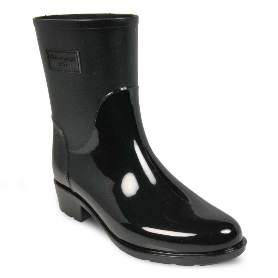 Резиновые сапоги женские Keddo 887951-01 черные 39 RU