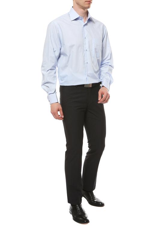 Рубашка мужская FAYZOFF-SA 1001Z голубая S(37-38)