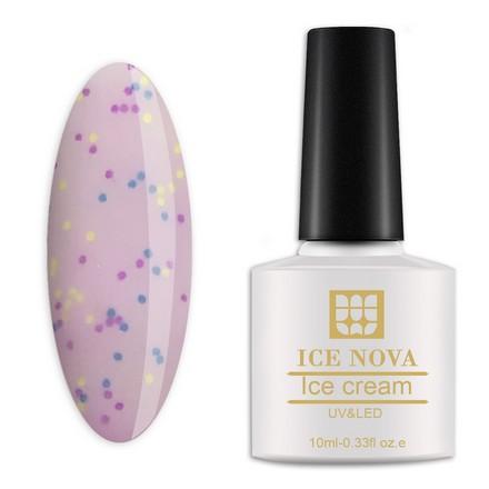 Купить Лак для ногтей Ice Nova гель-лак «Мороженое» №014 10 мл
