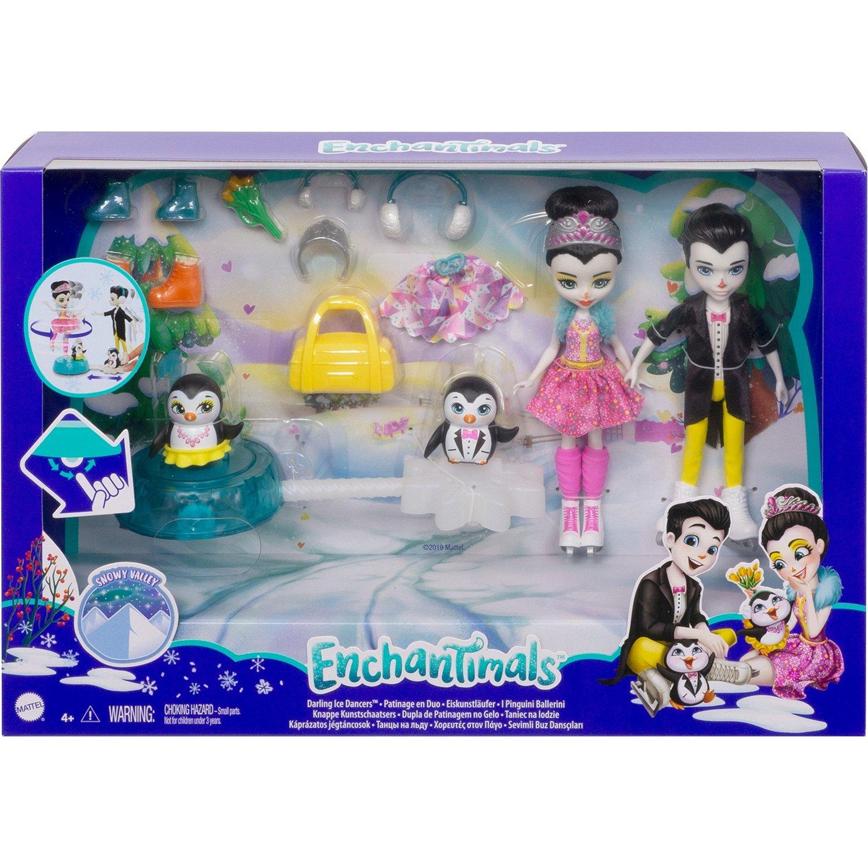 Набор игровой Снежная долина Фигурное катание Mattel