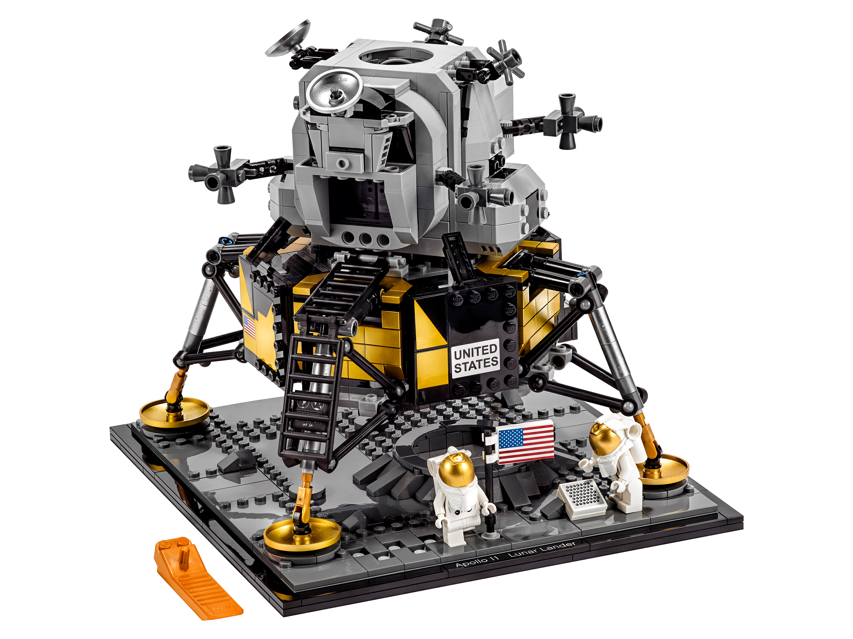 Конструктор Лунный модуль корабля Апполон 11 НАСА Lego 10266