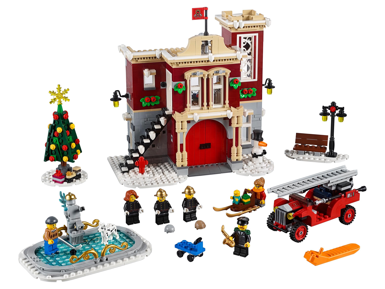 Зимняя деревня Lego 10263