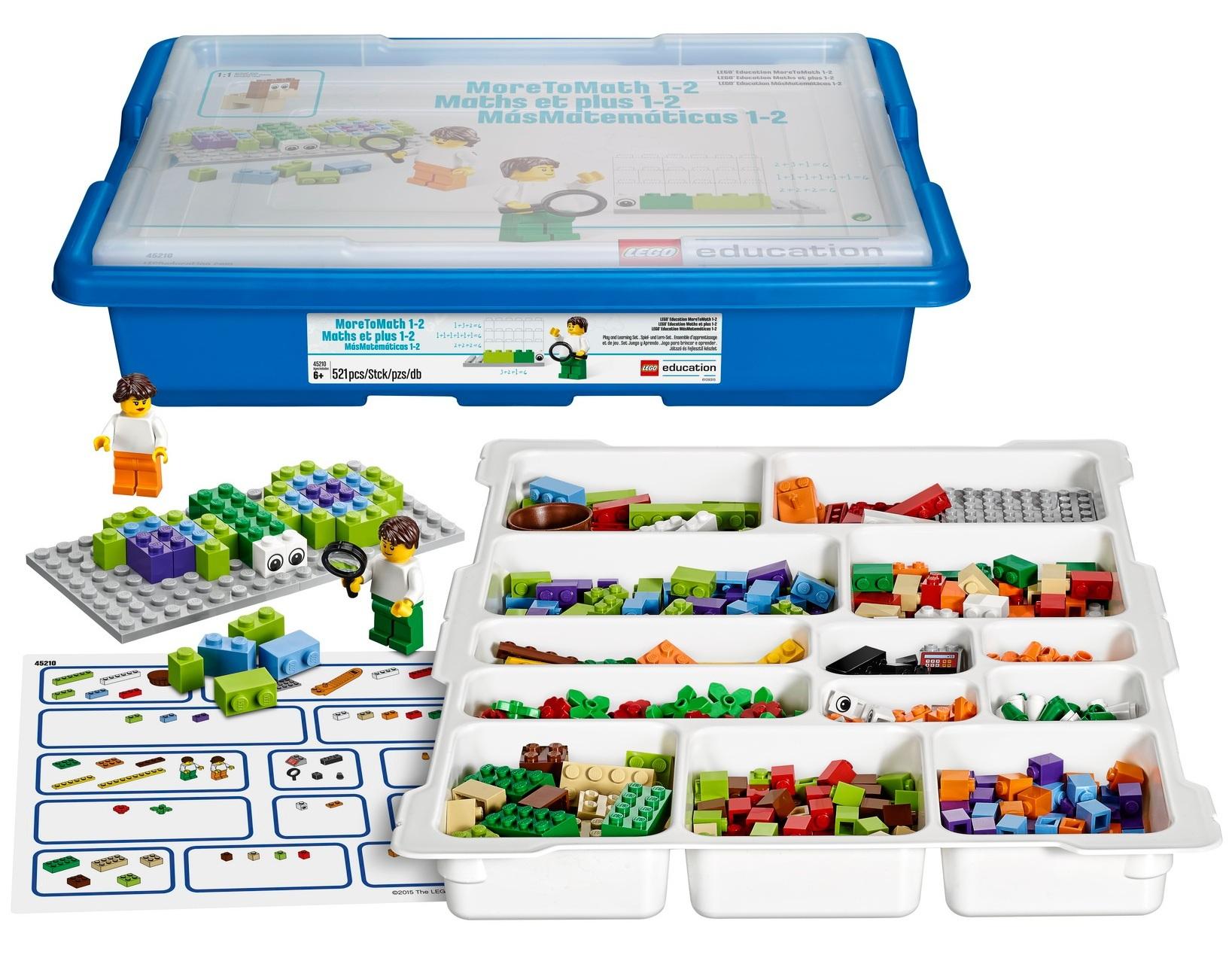Купить Конструктор LEGO Education MoreToMath Увлекательная математика 45210,