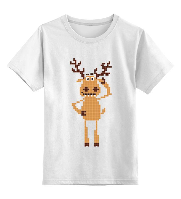 Купить 0000000737953, Детская футболка Printio подслушано цв.белый р.140,