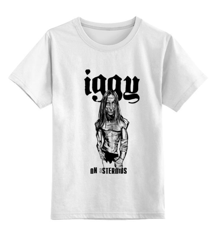 Детская футболка Printio Iggy on asteroids цв.белый р.140 0000000737177 по цене 790
