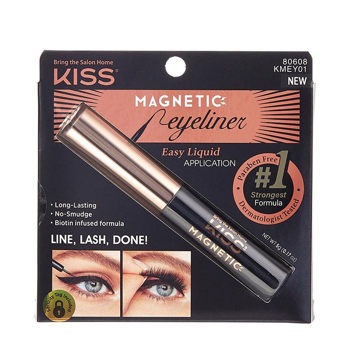Купить Магнитная подводка для накладных ресниц Kiss Black, Magnetic Eyeliner, 1 шт