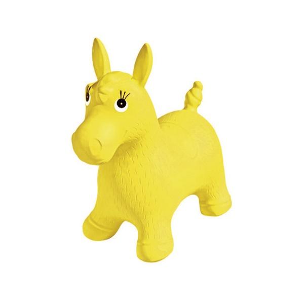 Пони попрыгун надувной Palmon желтый