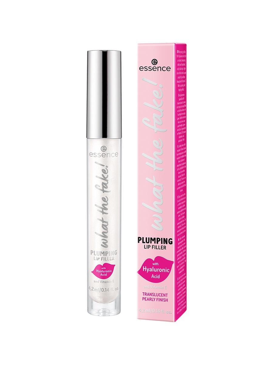 Купить Блеск для губ essence, What The Fake! plumping lip filler - т.01
