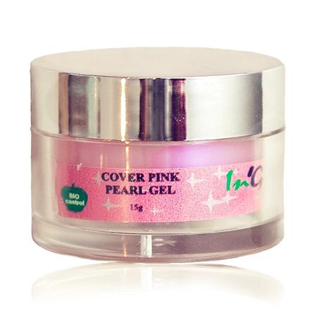 Купить Гель для ногтей In'Garden Cover Pink Pearl Gel 15 мл