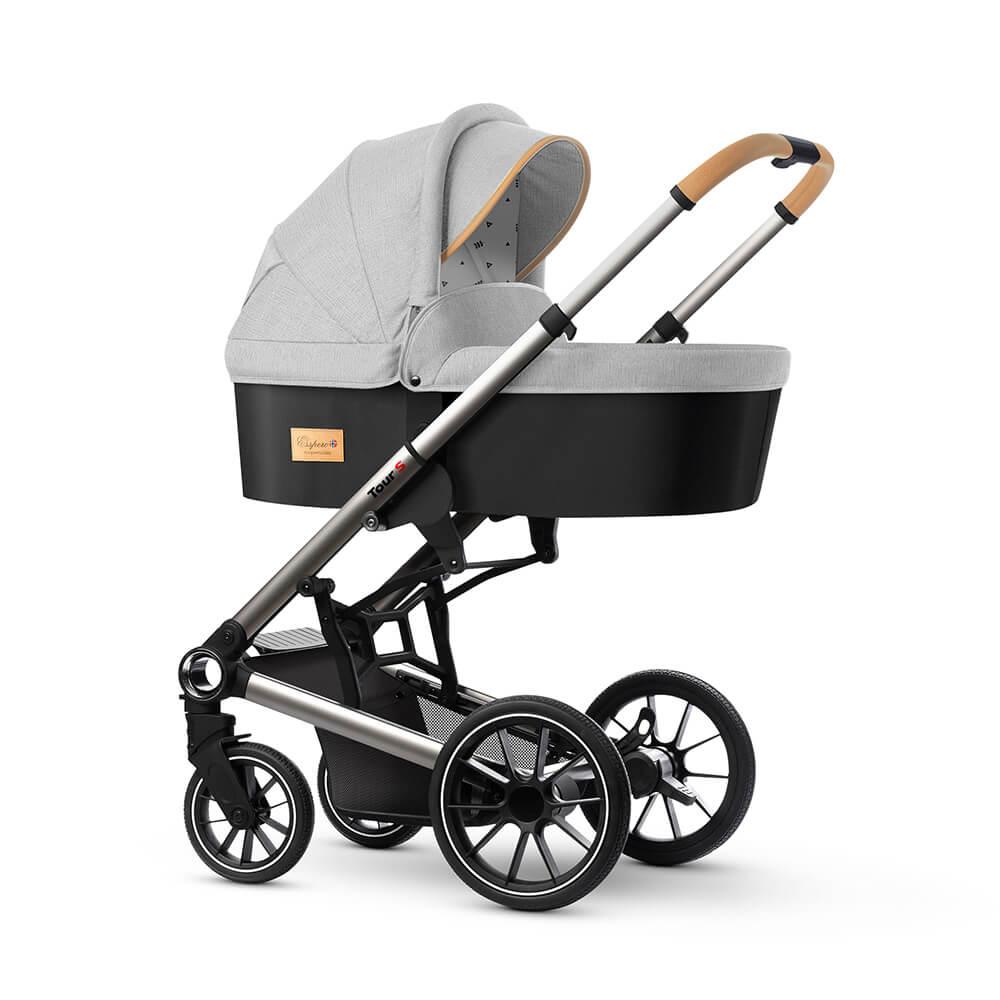 Коляска для новорожденных Esspero Tour S Grey