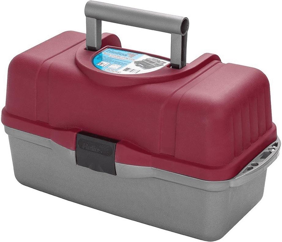 Ящик для инструментов трехполочный красный Helios