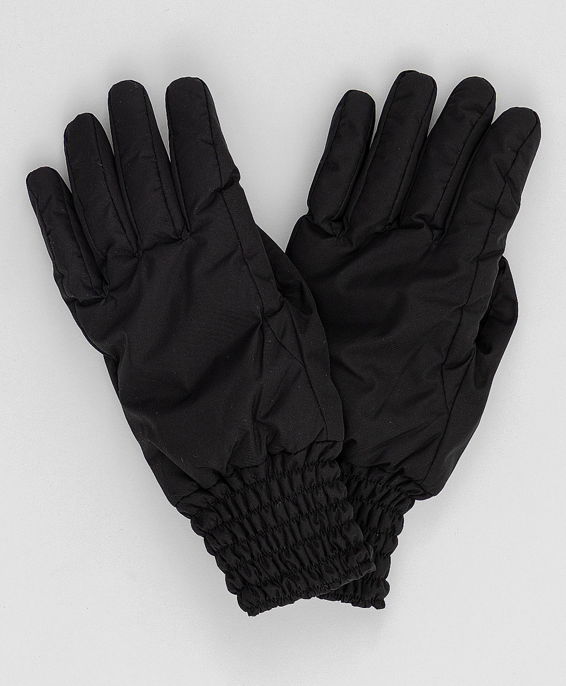 Черные перчатки Button Blue 220BBGJX76020800, размер 18