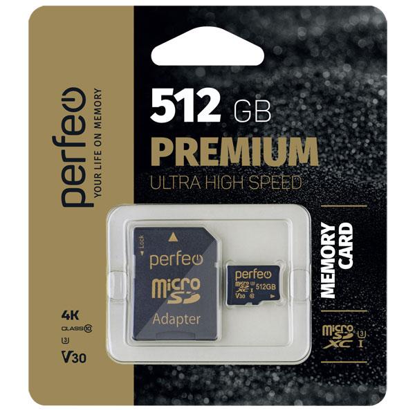 Карта памяти Perfeo High Capacity microSDXC (Class