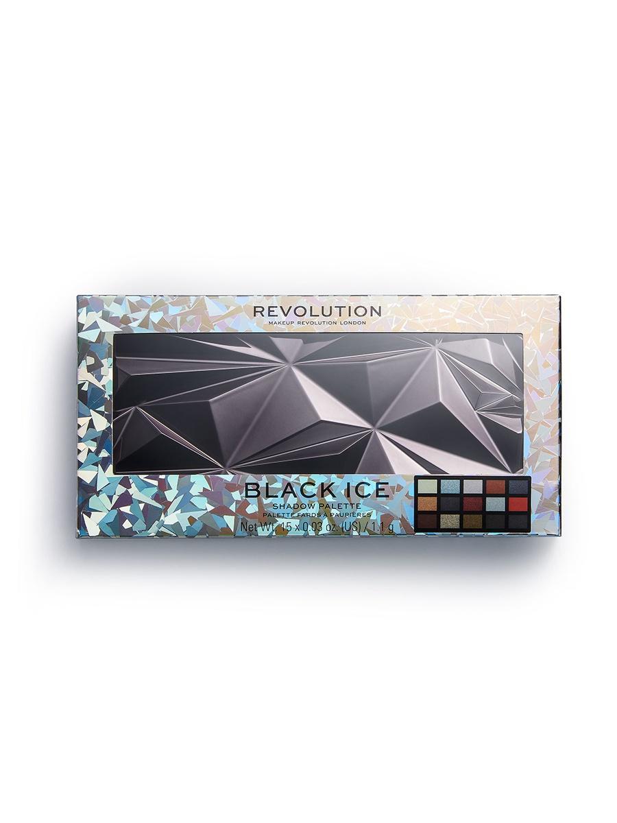 Палетка теней для век Revolution Makeup, Black
