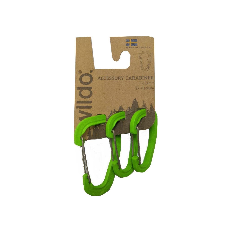 Набор карабинов Wildo 2019 Accessory Carabiner Set Of Three для аксессуаров Wildo Apple