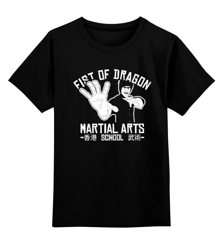 Детская футболка Printio Брюс ли цв.черный р.164 0000000721499 по цене 990