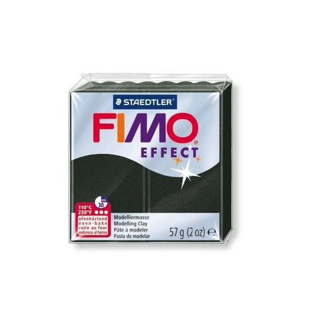Полимерная глина Effect запекаемая перламутровый черный, арт. 8020-907 56 г Staedtler