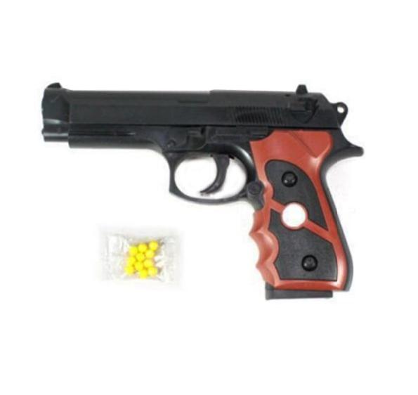 Игрушка Наша игрушка Пистолет механический, арт. B00741