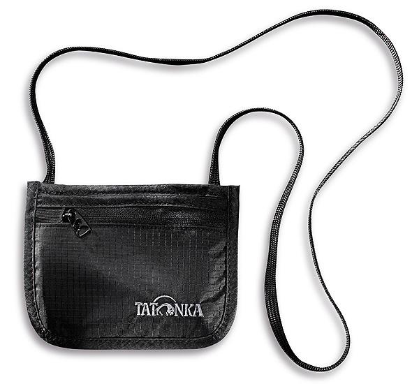 Шейный кошелек для денег и документов Skin ID Pocket (Черный) от Tatonka