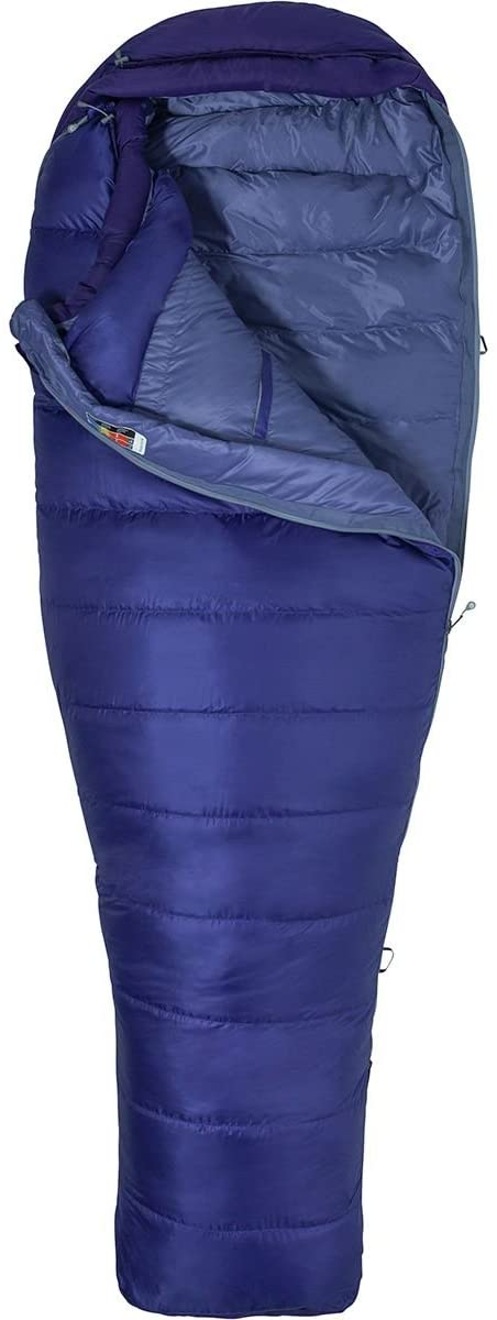 Спальный мешок Marmot Wm's Ouray Long, Electric Purple/Royal Grape
